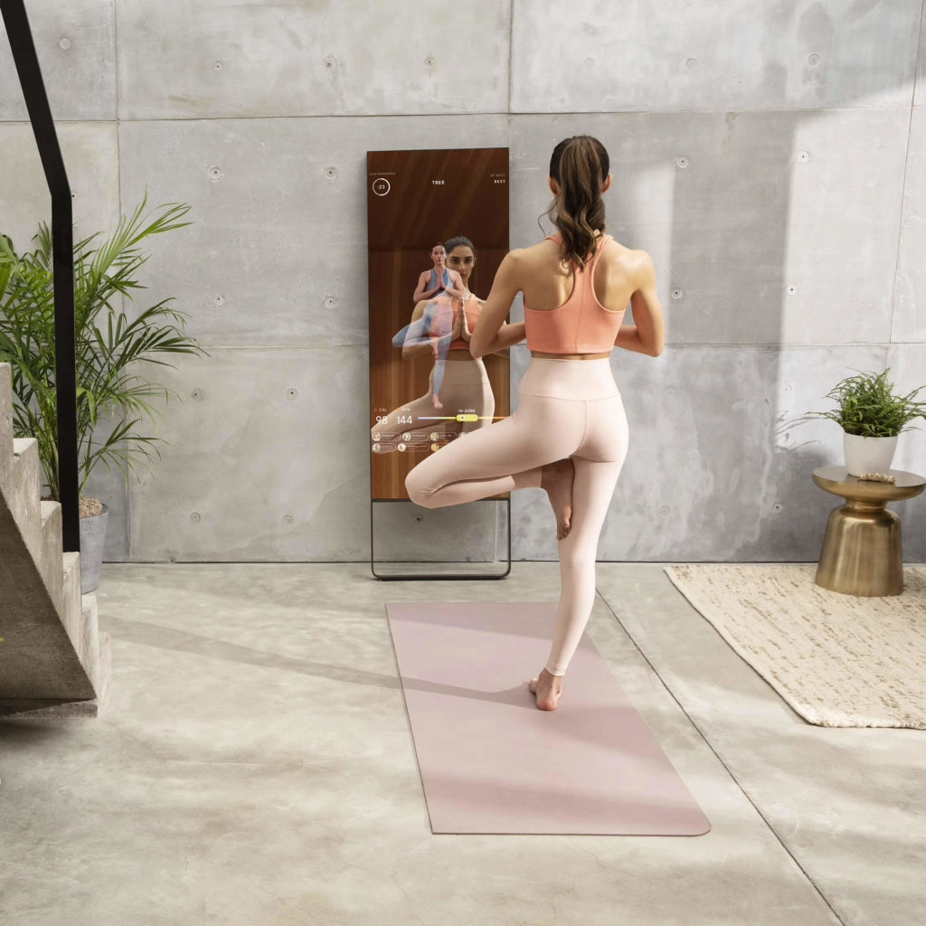the Mirror for home fitness