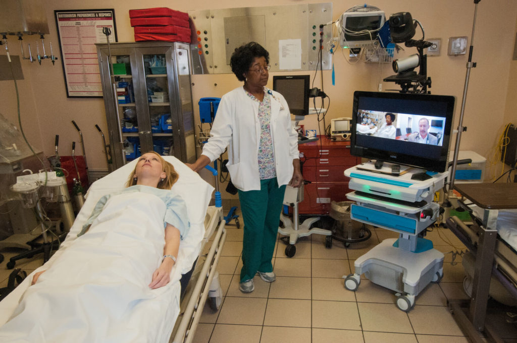objects for Implementing a Telemedicine solution