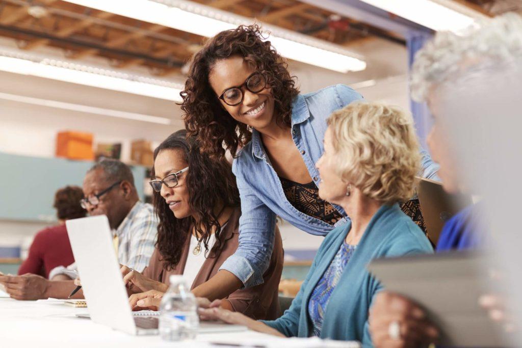 Helping seniors embrace new technology