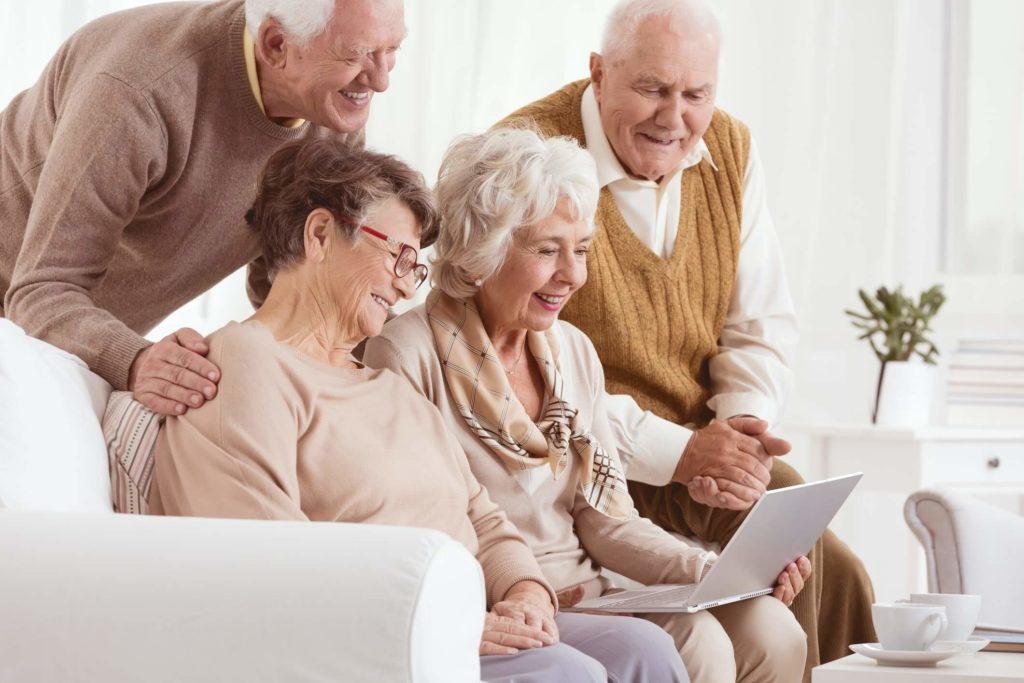 Seniors embrace technology