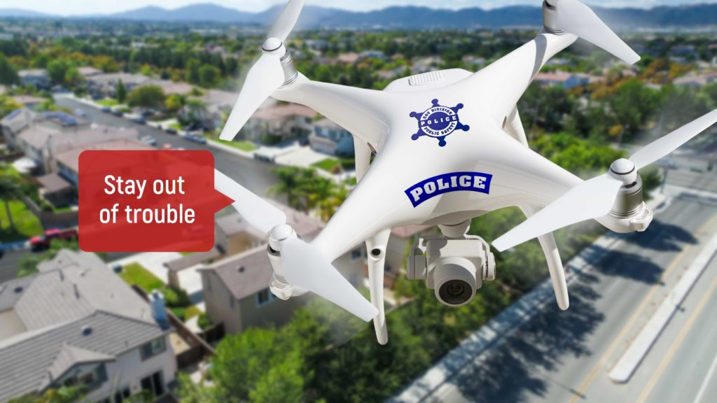 AI drones in public safety