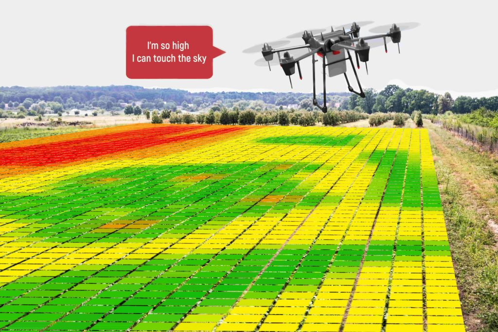 Agriculture artificial intelligence drones